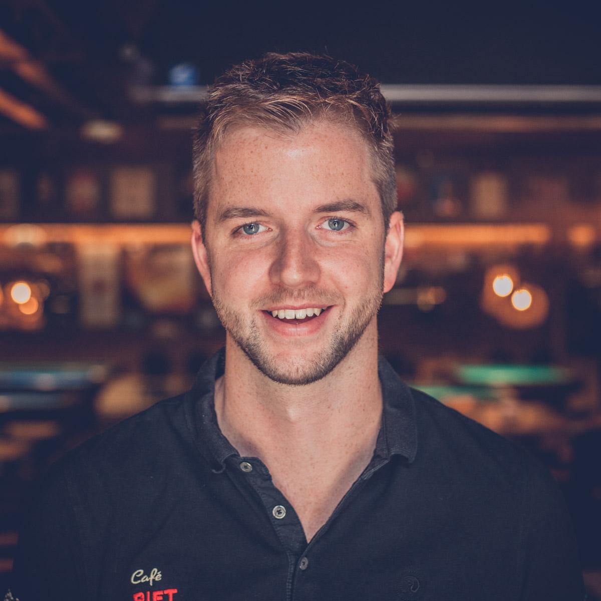 Café Piet Huisman Team Alex