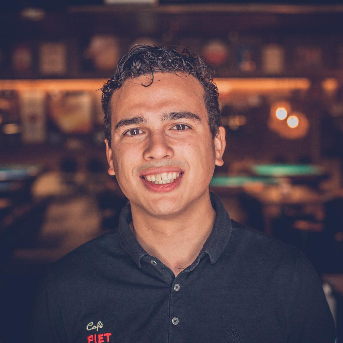 Café Piet Huisman Team Dennis