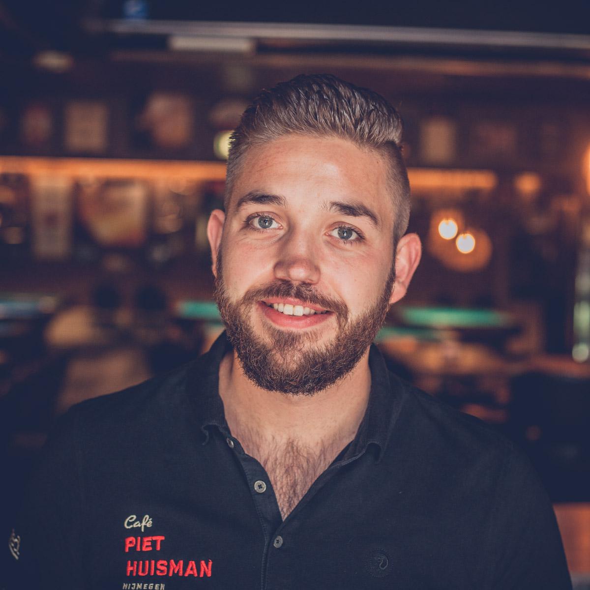 Café Piet Huisman Team Maurice
